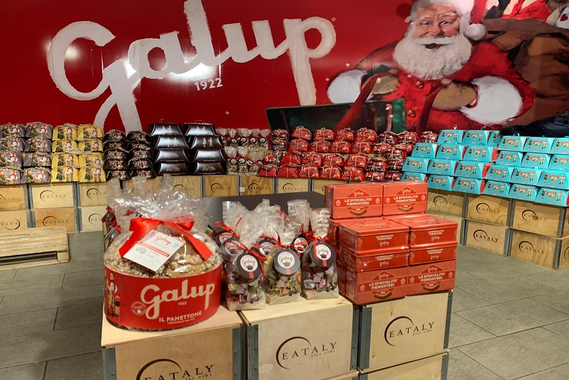 Galup temporary store eataly to